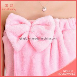 Hot Sale Coral Fleece Bath Towels Factory Price pictures & photos