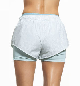Summer Running Shorts Tight Fitness Yoga Womens Training Shorts pictures & photos