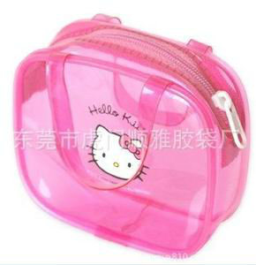 PVC Zipper Bag with Handle for Hello Kitty pictures & photos
