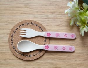 FDA Approved Bamboo Fiber Kids Spoon (YK-A9006) pictures & photos