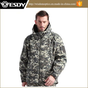 Outdoor Sports Waterproof Combat Army Tactical Jacket Hoodie for Hunting pictures & photos