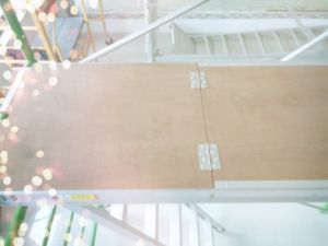 Scaffolding Aluminium Plywood Stair with Trapdoor pictures & photos