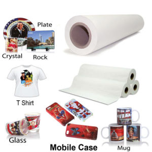 70GSM Sublimation Transfer Paper for High Speed Printer in Textiles pictures & photos