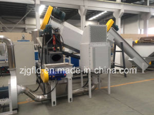 Waste Plastic Bag Film Fiber Recycling and Granulating Machine Price pictures & photos