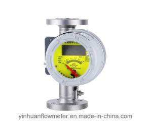 Lzdh Mechanical Pointer Indicating Electric Remote Flange Type Metal Tube Float Variable Area Flowmeter pictures & photos