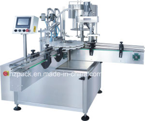 Automatic Paste Filler/Paste Filling and Capping Machine From China pictures & photos