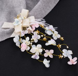 Popular Bow Flower Hair Pin Accessories Headpiece pictures & photos