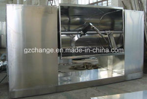 GMP Standard Horizontal Ribbon Blender Mixer for Pharmacy Food Lines pictures & photos
