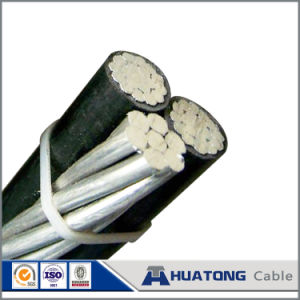 0.6/1kv PVC / XLPE Aluminium Conductor Aerial Bundled Cable Twisted ABC Cable pictures & photos