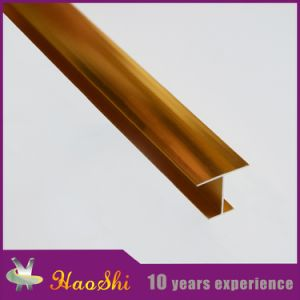 Decorative Building Accessories Aluminum Tile Trim Profiles for Wall Corner Protection