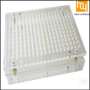 400 Holes Manual Capsule Filling Board pictures & photos