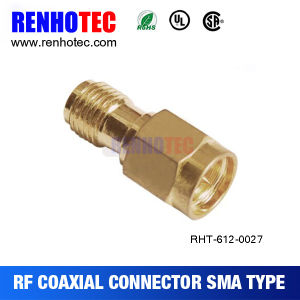 Quickly Fit Adaptor Plug to Jack SMA Connector pictures & photos