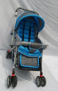 European Standard Fold Baby Strollers with Mosquito Net and Foot Cover pictures & photos