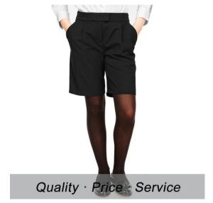 High School Uniform Shorts for Girls Hot Sale OEM Service pictures & photos