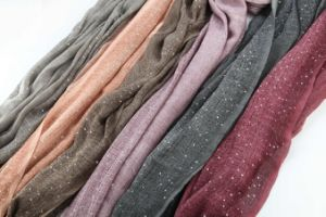 Hot Selling Cheapest Voile DIP Dye Scarf