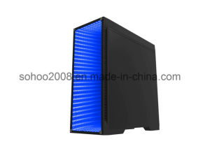Black Full Tower Gaming Case with Transparent Window (9908) pictures & photos