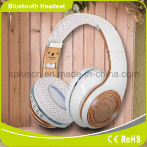 White Hi-Fi Bluetooth Music Headphone for Mobile Phone/PC pictures & photos