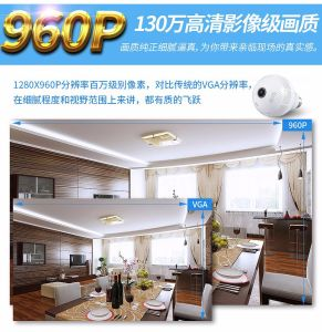 WiFi H. 264 Light Bulb Camera IP Camera 32fps pictures & photos