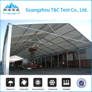 20m Aluminum Frame Warehouse Tent in Latin America, Inside View pictures & photos