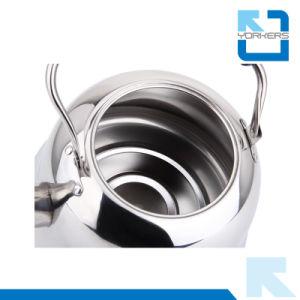 Portable 4L/5L/6L Stainless Steel Tea Pot Whistling Kettle pictures & photos