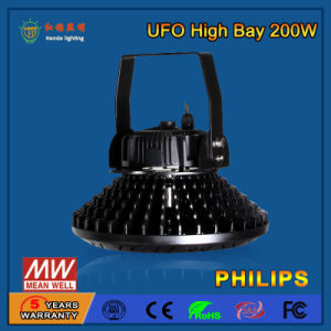 High Brightness 110-130lm/W SMD2835 200W LED High Bay Light pictures & photos