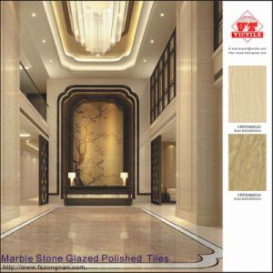 Marble Stone Glazed Polished Porcelain Floor Tiles / Azulejo (VRP69M024) pictures & photos