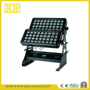 Outdoor 72PCS*10W LED Wall Washer Light pictures & photos