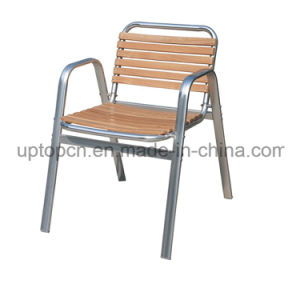 Wholesales Wood Aluminum Tube Cafe Chair for Garden (SP-OC714) pictures & photos