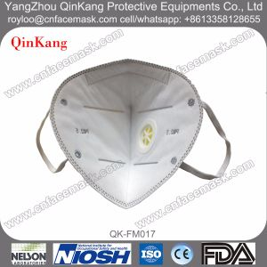 N95/Ffp3 Valve Foldable Particulate Respirator pictures & photos