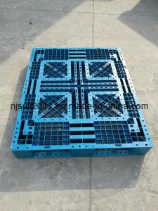 Steel Reinforced Durable Cross Type Plastic Pallet pictures & photos