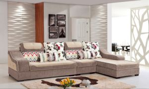 Hotel Sofa Bed Fabric Sofa (FEC1300) pictures & photos