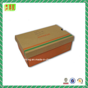 E-Flute Corrugated Paper Shop Box with Printing pictures & photos