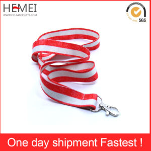 Polyester Lanyard with Custom Logo Print pictures & photos