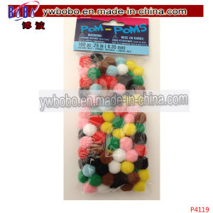 Small Craft POM Poms Holiday Decoration Party Supplies (P4119) pictures & photos