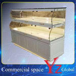 Cake Display Cabinet (YZ161008) Kitchen Cabinet Wood Cabinet Baking Cabinet Cake Showcase Pastry Showcase Bread Display Cabinet Bakery Display Cabinet pictures & photos