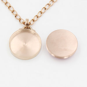 Rose Gold Plating Interchangeable Stainless Steel Pendant Necklace pictures & photos