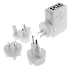 2A 4 in 1 USB Travel Charger AC Wall Cell Phone Charger pictures & photos