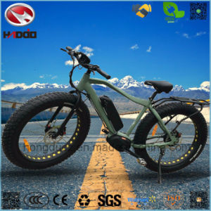 Alloy Frame Fat Tire Good Quality Electric Beach Bike for Adult pictures & photos
