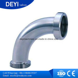 Stainless Steel Hygienic Male Thread Pipe Elbow (DY-E024) pictures & photos