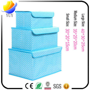 Non-Woven Fabric Trumpets Clothing Finishing Locker Storage Box pictures & photos