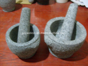 Granite Mortars and Pestle Factory From China pictures & photos