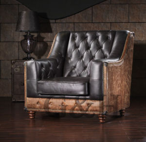 Luxury Latest Heated Leather Sofa Design pictures & photos
