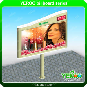Outdoor Street Furniture Steel Structure Billboard Advertising Sign Board pictures & photos
