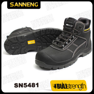 Split Nubuck Leather Safety Shoes with Ce Certified Sole (SN5481) pictures & photos