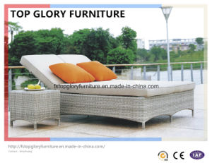 Outdoor Rattan Beach Chairs/ Sunbed/ Lounger/Daybed (TGLU-056) pictures & photos