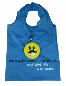 Foldable Shopper Bag, Mustache Style, Promotion, Lightweight, Gifts, Tote Bag, Grocery Bags and Handy, Reusable, Decoration & Accessories pictures & photos