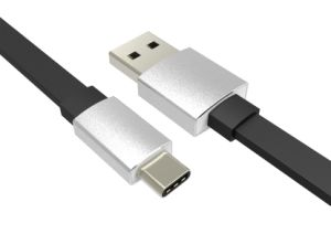 Three Color Power Through The 3.0A Current Type-C USB Cable pictures & photos