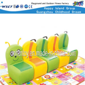 Kindergarten Furniture Caterpillar Type Sofa Chair (HF-09911) pictures & photos