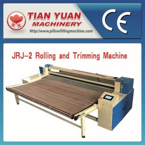 Jrj-3 Nonwoven Wadding Edge Trimming and Coiling Machine pictures & photos
