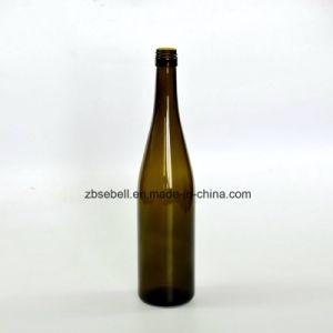 Antique Green Glass Wine Bottle, Hoch Wine Bottle 750ml (NA-011) pictures & photos